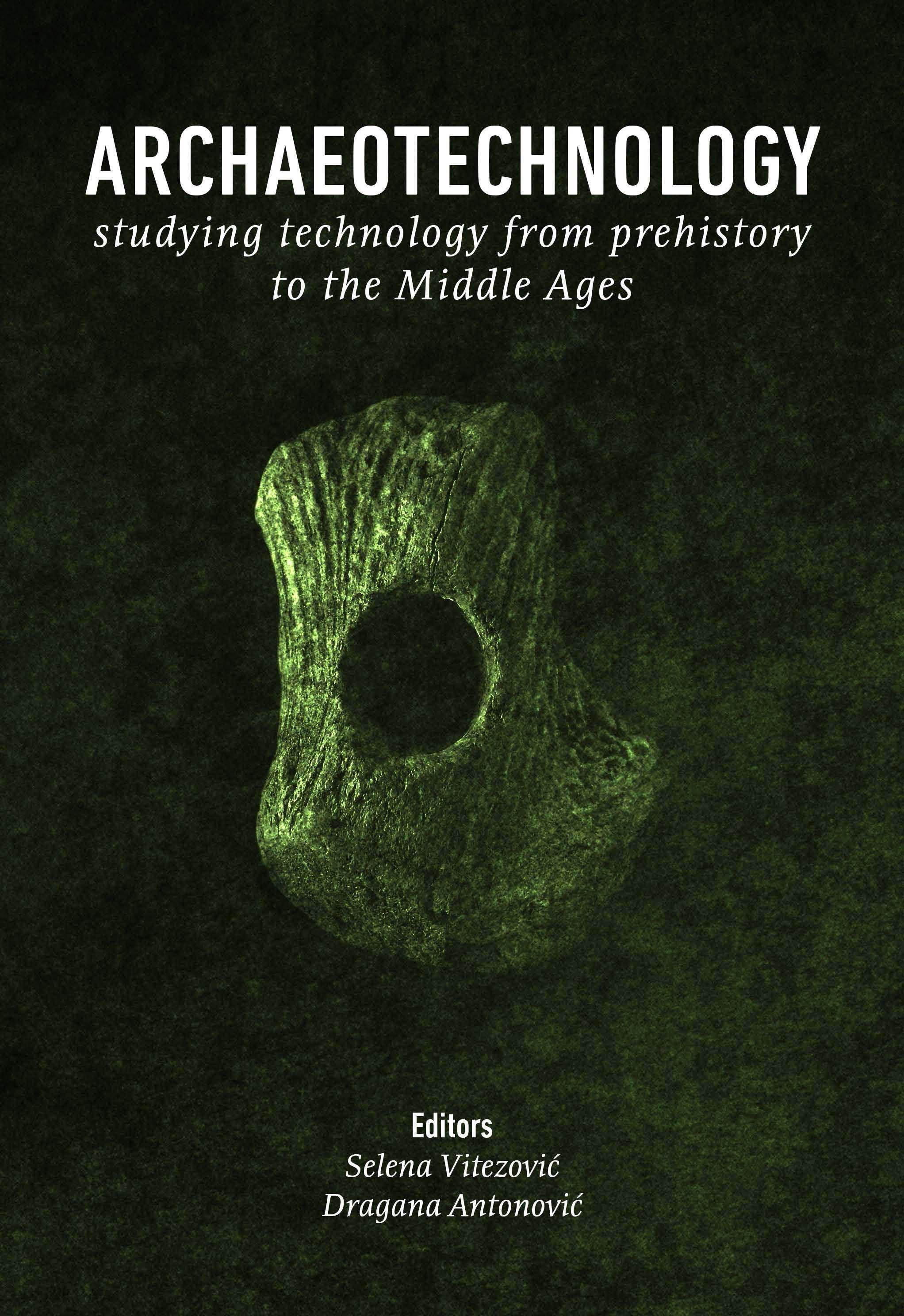 Archaeotechnology: naslovna strana